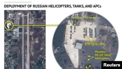 Rusiyanın Suriyadakı hərbi texnikasını göstərdiyi iddia olunan fotolar