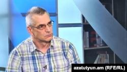 Ричард Киракосян в студии «Азатутюн ТВ», Ереван, 25 августа 2017 г․