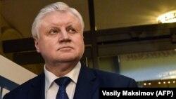 Russian politician Sergei Mironov (file photo)
