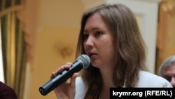 Председатель Центра гражданского просвещения «Альменда» Ольга Скрипник