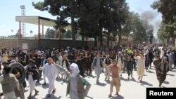 از چندین روز به این طرف مظاهرات در برخی از ولایات شمال افغانستان ادامه یافته است