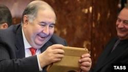 Миллиардер Алишер Усмонов. Москва, 2014, 15 апрель.