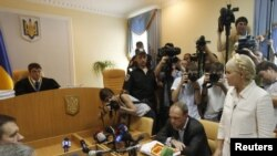 Юлия Тимошенко на заседании суда