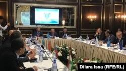 Заседание по итогам международной антинаркотической операции «Канал — Красный бархан». Шымкент, 15 сентября 2018 года.