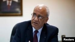 Fələstinin baş danışıqçısı Saeb Erekat
