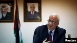 Саеб Ерекат, висок палестински преговарач