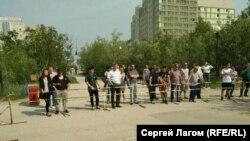 Митинг против пенсионной реформы в Якутске