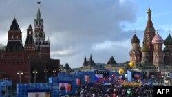Иллюстрационное фото. Празднование второй годовщины аннексии Крыма. Моксва, март 2016 года