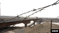 The Tajik-Afghan border