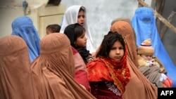 شماری از مهاجرین افغانستان در پاکستان