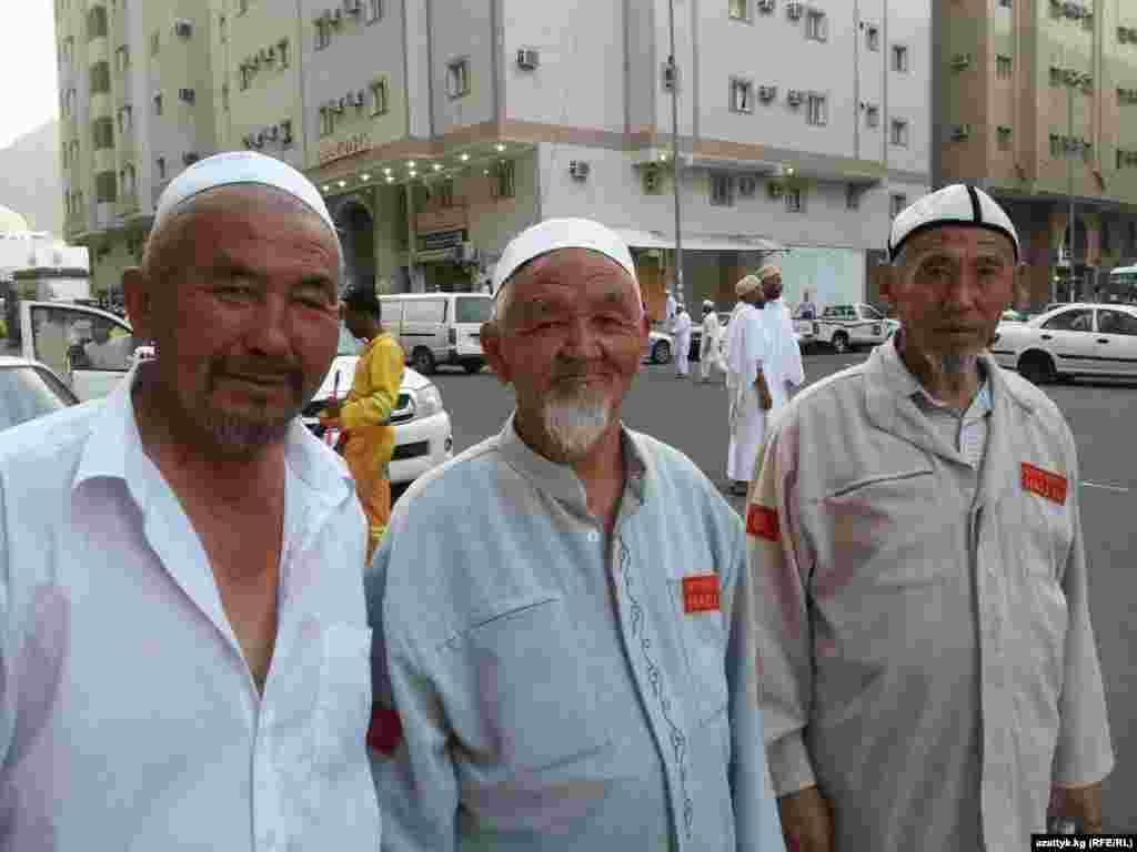 Кыргызские паломники в прошлом году в Мекке
