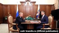 Владимир Путин и Александр Осипов