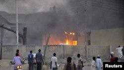 Кон почетокот на годинава во Кано беше бомбардирана полициска станица