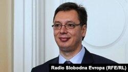 Новоизбранный президент Сербии Александр Вучич.
