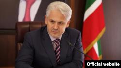 Мэр Грозного Муслим Хучиев (фото с официального сайта мэрии)