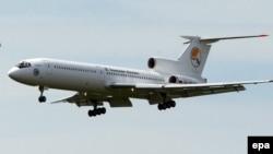 Российский самолет Ту-154. Иллюстративное фото.