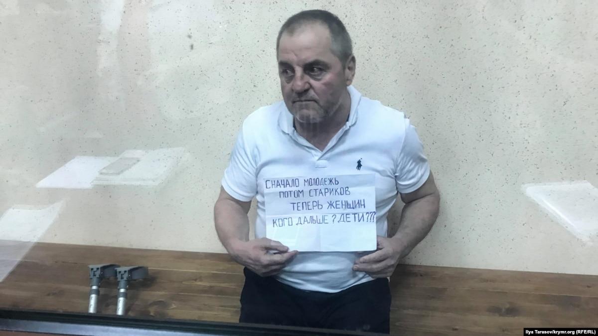 Арестован активист Бекиров не может вставать через сильные боли в спине – родные