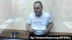 Silâ saqlağanında qabaatlanğan Edem Bekirov