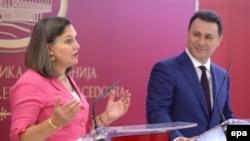Viktorija Nuland i Nikola Gruevski