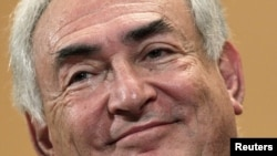 Глава Международного Валютного Фонда Доминик Строс-Кан