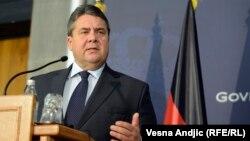Вице-канцлер ФРГ Зигмар Габриэль