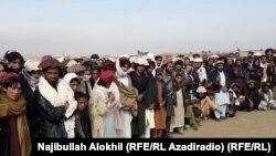 په افغانستان کې د وزیرستان کډوال (پخوانی عکس)