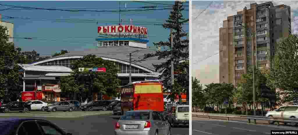 Ринок на площі імені Куйбишева за 32 роки обріс деревами і торговими точками. Частину торгових точок знесли торік за рішенням влади, а щодо інших досі тривають тяжби.На вулиці Київській за Московською площею збільшилася кількість багатоповерхівок
