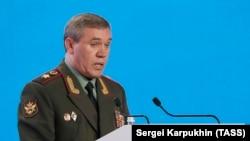 Глава Генштаба ВС России, генерал армии Валерий Герасимов