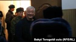 Экс-мэр Бишкека Кубанычбек Кулматов.