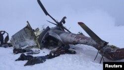 Ҳалокатга учраган вертолёт (сурат мазкур хабарда айтилган вертолётга оид эмас).