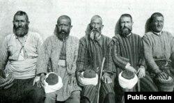 Turci din Dobrogea, Sursa: Eugène Pittard, La Roumanie: Valachie, Moldavie, Dobroudja, Paris, 1917