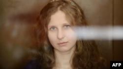 Maria Alyokhina (file photo)