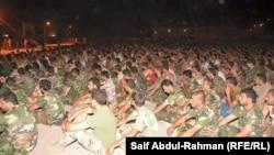 الكوت اكثر من 1000 طالب التحقوا مؤخرا بمراكز التدريب على السلاح