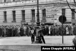 Будапэшт падчас паўстаньня 1956 году