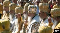 Patriarhul Moscovei în cursul vizitei în R. Belarus