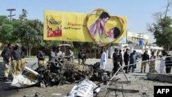 На місці вибуху у Кветті, 23 червня 2017 року