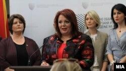 Прес-конференција на Специјалното јавно обвинителство. Катица Јанева, специјална обвинителка.