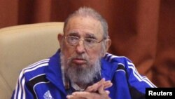 Фидель Кастро. 19 сәуір 2016 жыл.