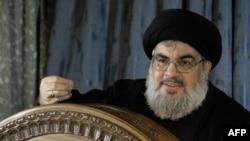 Хасан Насралла виступає перед шиїтами на околиці Бейрута