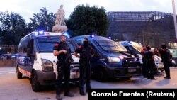 Policija u Barceloni
