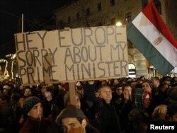 Protesti u Budimpešti 2. januara