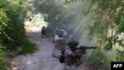ერაყის ჯარისკაცები ექსტრემისტთა წინააღმდეგ პოზიციებს იცავენ
