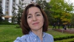 Maia Sandu, lidera PAS răspunde întrebărilor Europei Libere