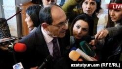 Замглавы МИД Армении Шаварш Кочарян, Ереван, 7 марта 2019 г.