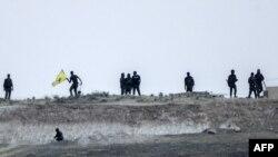 Սիրիա - «Ժողովրդական պաշտպանության ուժերի» աշխարհազորայինները Թուրքիայի հետ սահմանի մոտակայքում, արխիվ