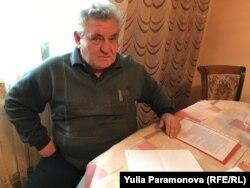 Отец обвиняемой Константин Зимин