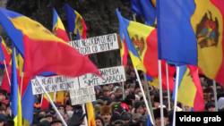 Молдова -- Кишиневдогу митинг, 24-январь, 2016.
