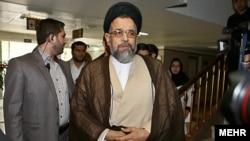 محمود علوی، وزير اطلاعات