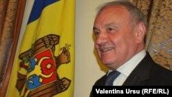 Президент Молдовы Николай Тимофти. Кишинёв, 29 мая 2012 года.