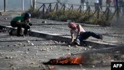 Судирите на Палестинците со израелската полиција во Ерусалим